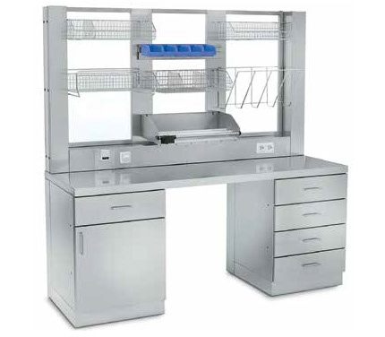 SCHLUMBOHM FUNCTIONAL FURNITURE STAINLESS STEEL FURNITURE